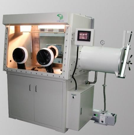 LG120D 雙面使用手套箱含純化, 再生系統